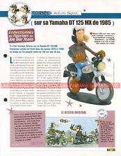 YAMAHA 125 DTMX 1985 Joe Bar Team Fiche Moto #008236