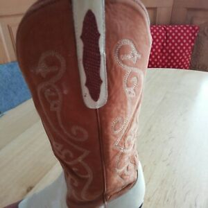 damen western cowboy stiefel stiefeletten