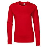 T-shirt à manches longues Gildan 100% coton, femme (BC489)