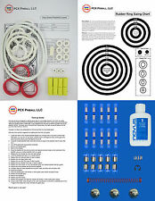 1986 Williams High Speed Pinball Machine Tune-up Kit - Includes Rubber Ring Kit