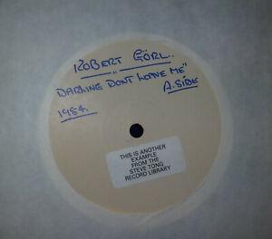 ROBERT GORL Darling Dont Leave Me '83 12 INCH PROMO DAF Annie Lennox 12 MUTE 31