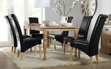 Unbranded Oak Dining Room Table & Chair Sets