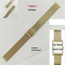 Timex Spare Strap T2P304 Classic Dress Ladies - Milanaise - 14mm Universal Band