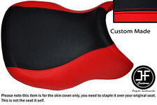 RED & BLACK VINYL CUSTOM FITS BMW R 1100 RT 94-01 & R 1150 RT 00-06 SEAT COVER