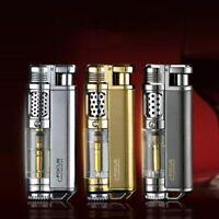 Torch Turbo Jet Lighter Cigar Cigarettes Windproof Refillable Butane Lighters