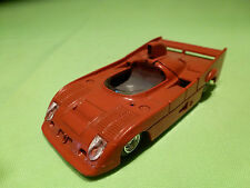 SOLIDO ALFA ROMEO  33TT12 - RED - BUILT/PAIN KIT - RARE SELTEN - GOOD CONDITION