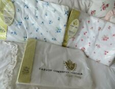 Cannon Vintage Nip Set Of 3 Twin Floral & White Sheets