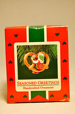 Hallmark: Seasoned Greetings - Salted Pretzel - 1987 Keepsake Ornament