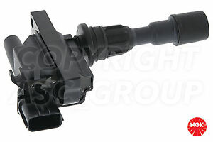 New NGK Ignition Coil For MAZDA 323 1.5 1998-01