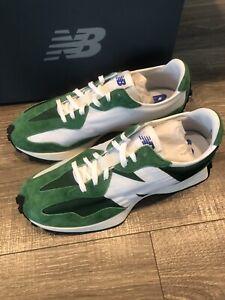 New Balance 327 Green Lifestyle New Men Sneakers gym Rare MS327 Men's 12