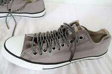 CONVERSE 110827 ALL STAR taille basse toile à lacets chaussure gris UK 7.5 /EU