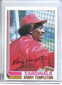 1982 TOPPS GARY TEMPLETON ( NM-MT OR BETTER )