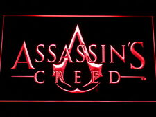 Assassins Creed LED Neon sign night Light Man Cave decor Games Room Gift