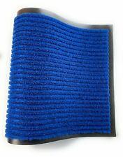 Small, Medium, Large, Machine Washable Barrier Mat, Kitchen Hall Door Mat Blue