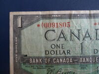 1954 Canada 1 Dollar Replacement Bank Note-*AY0091805-  21-69