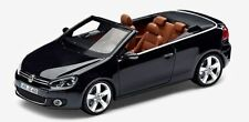GENUINE VW GOLF MK6 CABRIOLET DARK METALLIC PURPLE 1:43 SCALE DIECAST MODEL CAR