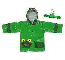 Kidorable Frog Raincoat, Green, 4T