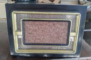 Vintage RCA Bakelite 45 rpm Record Player #45-EY-4, No Damage....Read....Look!
