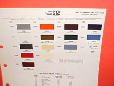 1982 DODGE SWEPTLINE PICKUP TRUCK 4x4 RAMCHARGER ROYAL SE RAM VAN PAINT CHIPS 82
