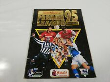 Preowned Merlins Premier League 95 Sticker Book 100% Complete