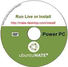 Ubuntu MATE 16.04 Live or Install Linux O/S for MAC Power PC IBM-PPC LibreOffice
