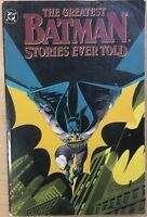 THE GREATEST BATMAN STORIES EVER TOLD (1988) DC Comics TPB VG/VG+