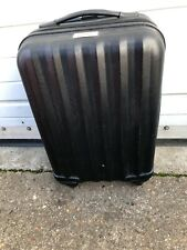 Karabar Suitcase Cabin Case Spinner Black Hard Travel Luggage Ex Display