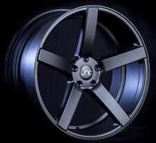 """19"""" JNC026 Wheels 19x9.5 / 19x10.5 5x114.3 Black Rims CV3 Deep Concave Staggered"""