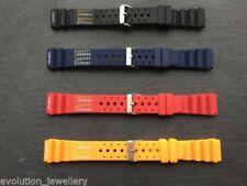 Scuba Silicone/Rubber Wristwatch Straps
