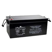 Offgridtec Akku 260Ah / AGM Solar Batterie für zyklische Anwendungen