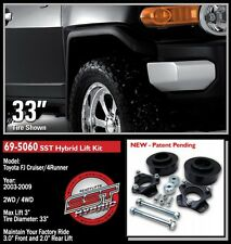 "1 - NEW READYLIFT 69-5060 3"" LIFT KIT 03-14 TOYOTA FJ CRUISER 4RUNNER"