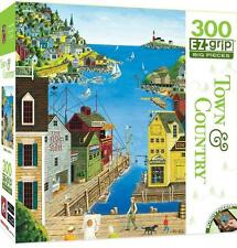 MASTERPIECES TOWN & COUNTRY PUZZLE A WALK ON THE PIER ART POULIN 300 PCS #31675