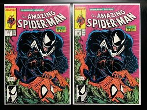 Amazing Spider-Man #316 - 1st Venom Cover! MT/Unread X2 Lot! CGC THEM! FLAWLESS!