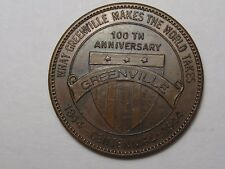 Trade Token: Greenville Centennial (From 1844 to 1944) G/F 25¢.  #73