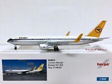 Herpa Wings Condor Retrojet Boeing 767-300 1:500 D-ABUM 523974