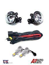 LED FOG LIGHTS LIGHT LAMPS FOR VW PASSAT 3C B6 06 - 09 56-59 + WIRING + HB4 9006
