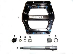Replacement Bearing Kit to fit DMR Vault Pedals