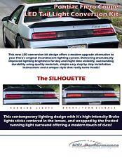 Pontiac Fiero LED Tail Light Conversion Kit SILHOUETTE