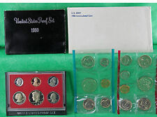 1980 Proof and Uncirculated Annual US Mint Coin Sets PDS 19 Coins