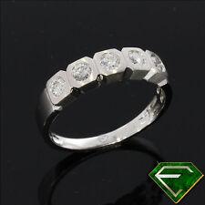 VVS1 Echte Diamanten-Ringe aus Platin mit Brilliantschliff