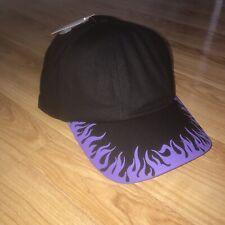 Purple Flame Dad Hat