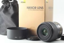 【TOP MINT in BOX】Nikon AF-S Micro Nikkor 60mm f/2.8 G ED 2.8G From JAPAN **A086