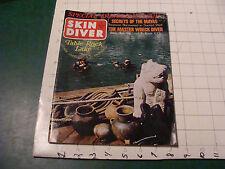 vintage magazine - Skin Diver february 1969 table rock lake Mayas wreck diver