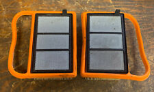 2 X USED GENUINE STIHL TS410 TS420 DISC CUTTER PETROL SAW AIR FILTER SETS