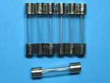 100 Pcs Glass Fuse 4A 250V 6mm x 30mm Fast Blow 6x30 New