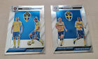 PRIZM UEFA Euro 2016, 2 x Country Combinations Duals, SCHWEDEN - SWEDENTrading Card Sets - 261330