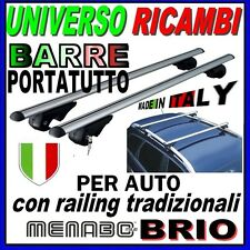Barre Portatutto Menabo BRIO 120 TOYOTA Yaris (P1) Verso 00>05 b.Longitudinali