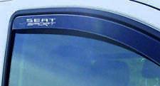 SEAT SPORT WIND DEFLECTOR STICKERS x 2 LEON IBIZA SEAT R