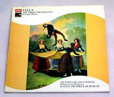 Falla - Three Cornered Hat -  De Burgos -  British EMI LP SXLP 30187  NM Rare