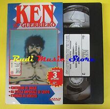 film VHS cartonata KEN IL GUERRIERO 2 Cacciatori di taglie La scuola(F16) no dvd